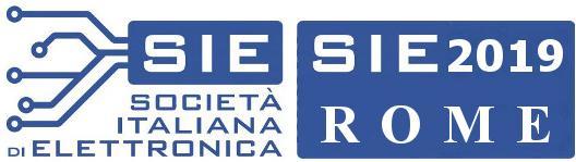 SIE 2019 - Associazione Società Italiana di Elettronica
